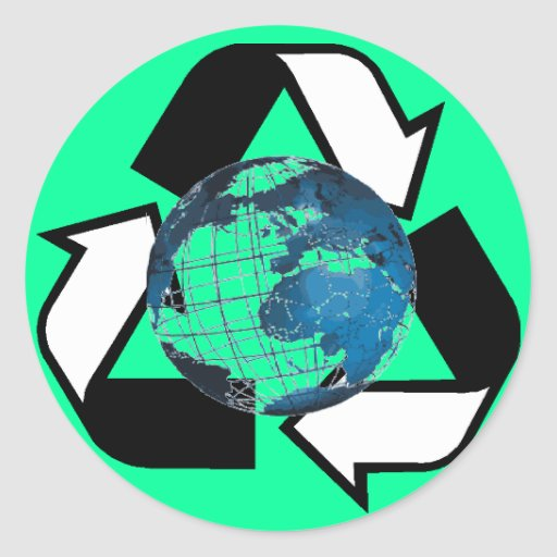 Save Energy, Recycle Sticker