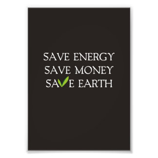 Save energy art framed artwork zazzle for Save energy painting