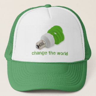 Save energy trucker hat