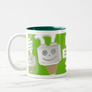 Save Energy Two-Tone Coffee Mug