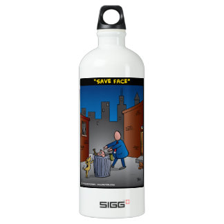 """""""Save Face"""" Water Bottle"""