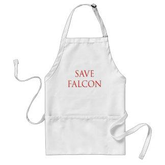 Save Falcon Balloon Boy Fly Adult Apron