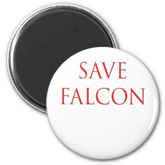 Save Falcon Balloon Boy Fly Magnet