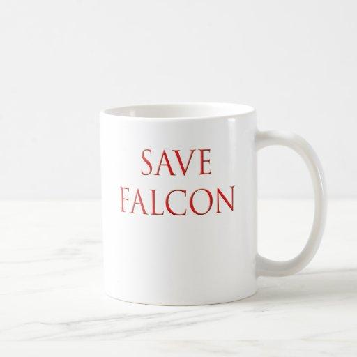 Save Falcon Balloon Boy Fly Mug