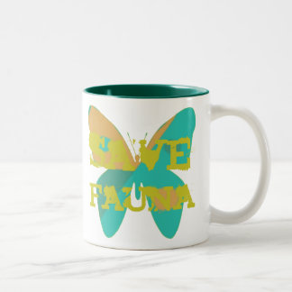 Save Fauna Coffee Mugs