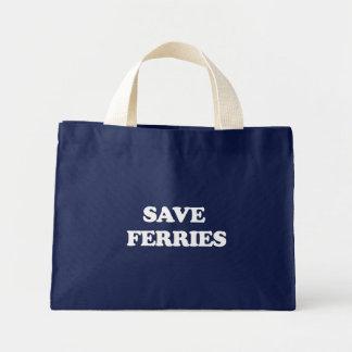 Save Ferries Canvas Bag