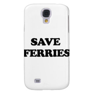 Save Ferries Galaxy S4 Covers
