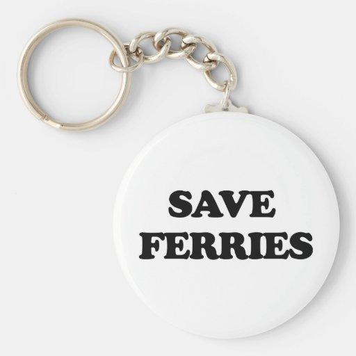 Save Ferries Key Chain