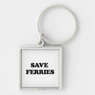 Save Ferries Keychain