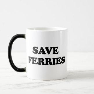 Save Ferries 11 Oz Magic Heat Color-Changing Coffee Mug