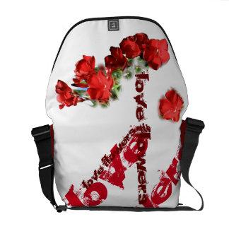 save flowers farrowed messenger bag