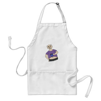 Save Fred Adult Apron