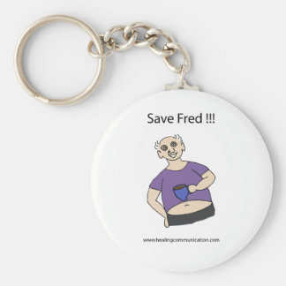 Save Fred Keychain