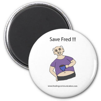 Save Fred Magnet