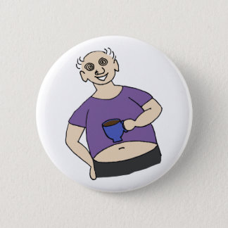 Save Fred Pinback Button