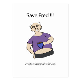 Save Fred Postcard