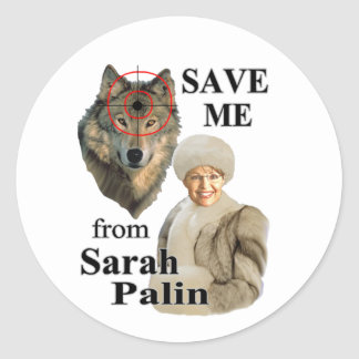 Save From Sarah Classic Round Sticker