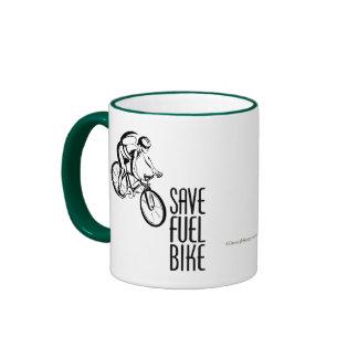 Save Fuel Biking Ringer Mug