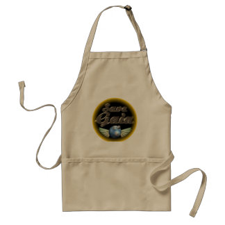 Save Gaia our Earth Adult Apron