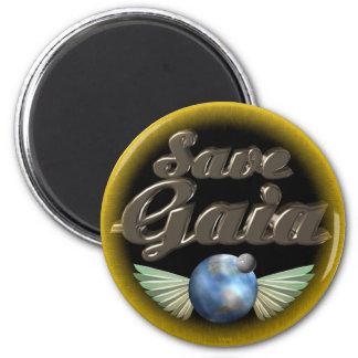 Save Gaia our Earth Fridge Magnet