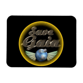 Save Gaia our Earth Magnets
