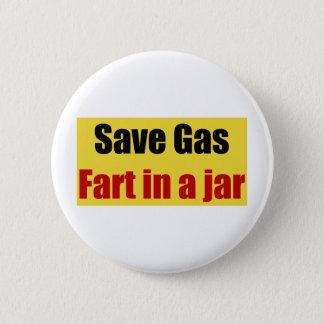 Save Gas Fart In A Jar Button