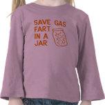 Save Gas Fart In A Jar Tshirt
