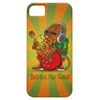 save gas, play guitar iPhone SE/5/5s case