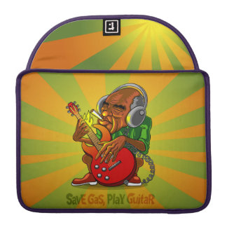 save gas, play guitar MacBook pro sleeve
