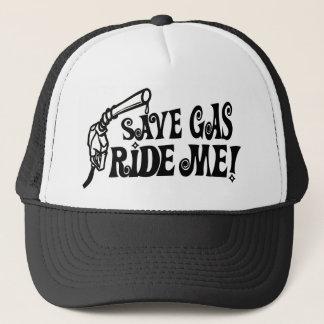 Save Gas Ride Me Trucker Hat