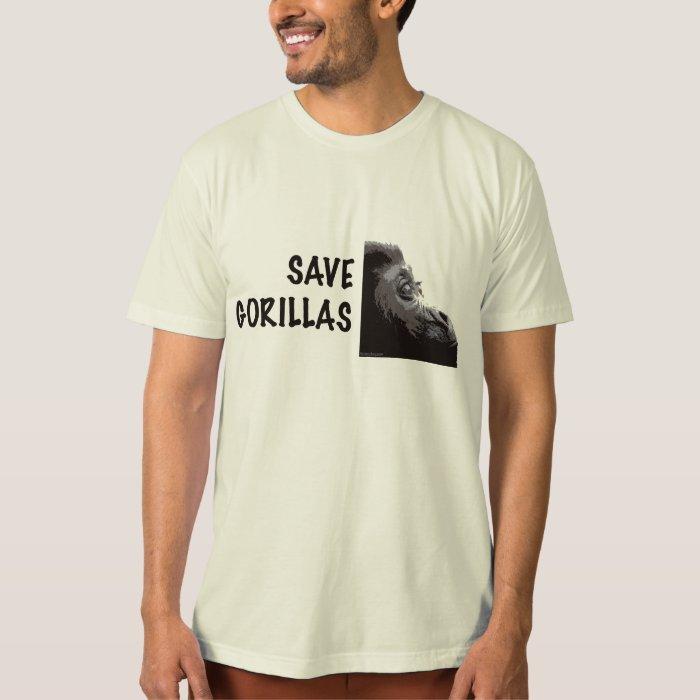 Save gorillas shirt