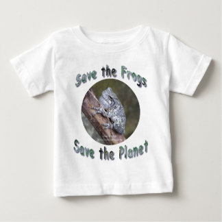 Save Gray Treefrogs Baby T-Shirt