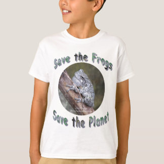 Save Gray Treefrogs T-Shirt