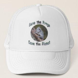 Save Gray Treefrogs Trucker Hat