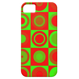 Save green Christmas Christmas Retro hoesje iPhone SE/5/5s Case