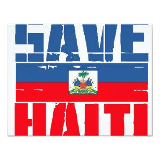 SAVE HAITI INVITE