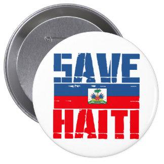 SAVE HAITI PINBACK BUTTON
