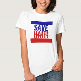 SAVE HAITI T SHIRT