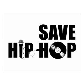 Save Hip-Hop Postcard