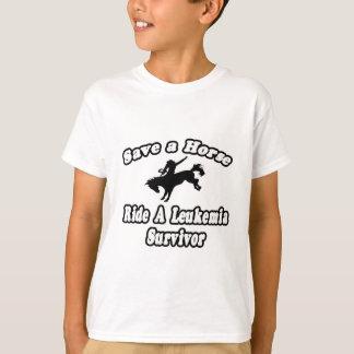 Save Horse, Ride Leukemia Survivor T-Shirt