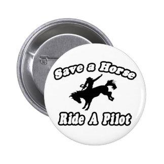 Save Horse, Ride Pilot Buttons
