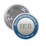 Save IE6 badge Pin
