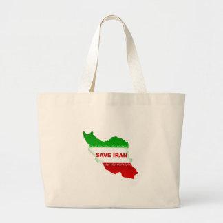 Save Iran Large Tote Bag