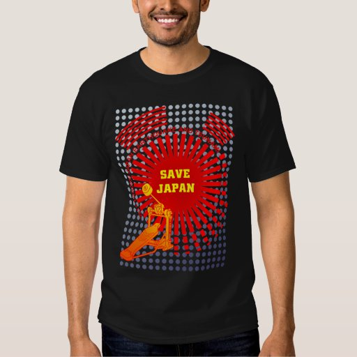 SAVE JAPAN with MUSIC T-shirt