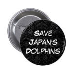 Save Japan's Dolphins Buttons