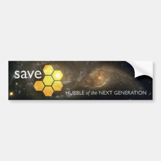 Save JWST: Hubble of the Next Generation Bumper Sticker