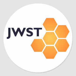 Save JWST Sticker on White