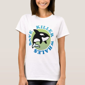 Save Killer Whales T-Shirt