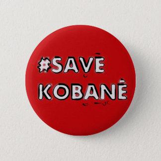 Save Kobani Pinback Button