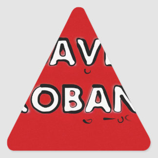 Save Kobani Triangle Sticker